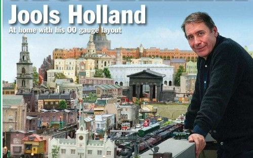 Jools Holland reveals 100ft long model railway he spent 10 years building and keeps in his attic to transport him back to his childhood
