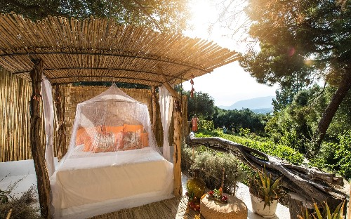 Sleeping under the stars in Sardinia: why outdoor suites have become the ultimate luxury