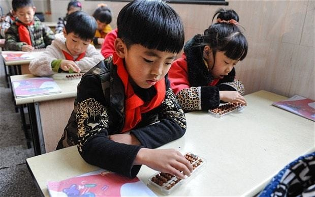 China's poorest beat our best pupils