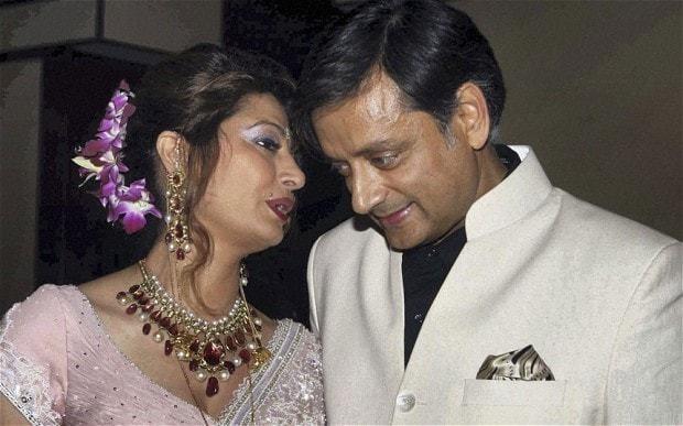 Sunanda Pushkar Tharoor - Magazine cover
