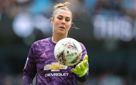 Mary Earps believes Man Utd can become one of the best teams in women's football 'within next five or six years'