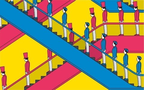 What really happens when you leave your social class behind you (to go up or down...)