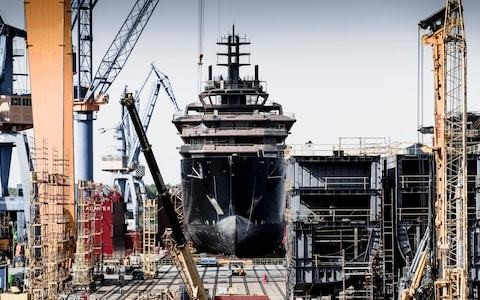 Superyachts keep getting bigger as recordbreaker gets set for the high seas