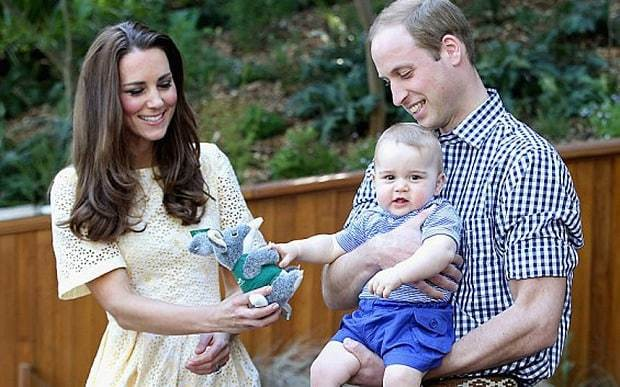 Prince George received 706 gifts from abroad last year, Kensington Palace reveals