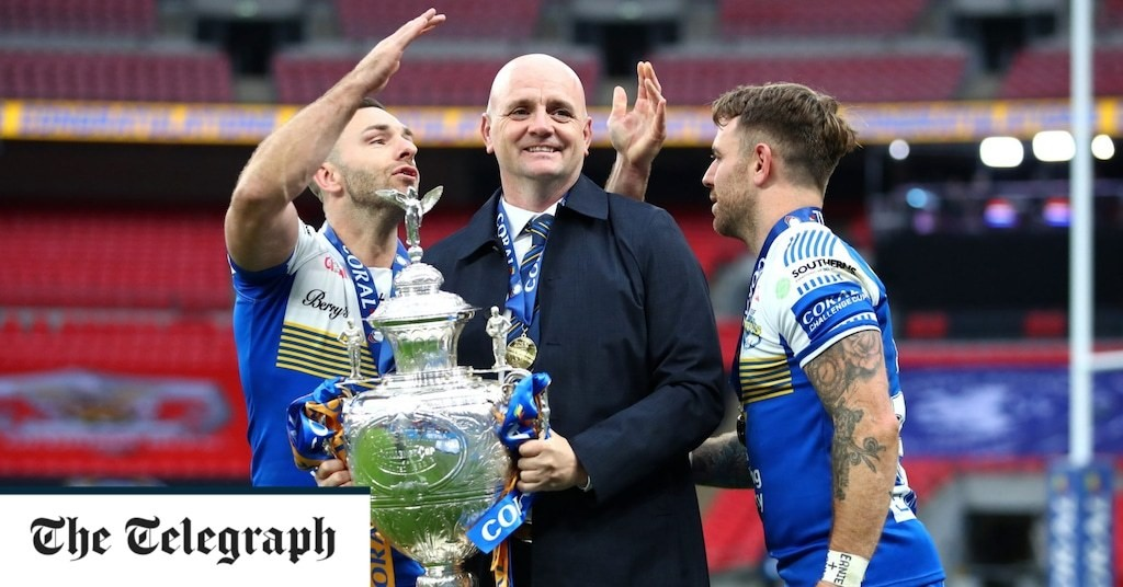 Richard Agar making Leeds Rhinos, Super League's most successful club, a serious force again