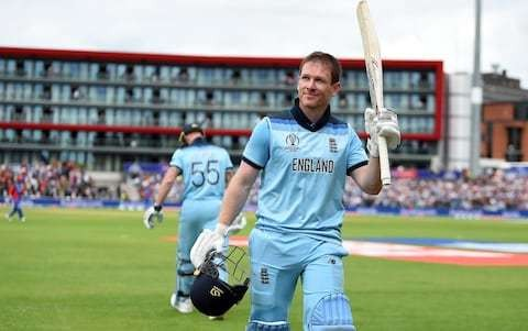 Eoin Morgan banishes memories of 2015 World Cup nightmare on day he will never forget
