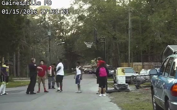 Someone complained to the police about these kids playing basketball. What happened next was brilliant