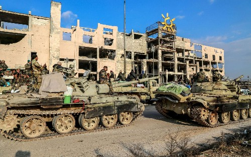 Syrian government on brink of recapturing strategic province of Aleppo from rebels in 'record time'