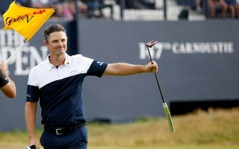 Justin Rose ready to fulfil Open destiny having laid ghost of Birkdale to rest with Carnoustie second place