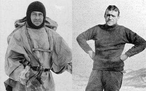 Lost letters from Captain Scott reveal bitter rivalry with Shackleton