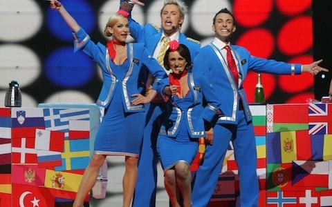 Eurovision has become as humiliating as Brexit - perhaps it's time we left, too