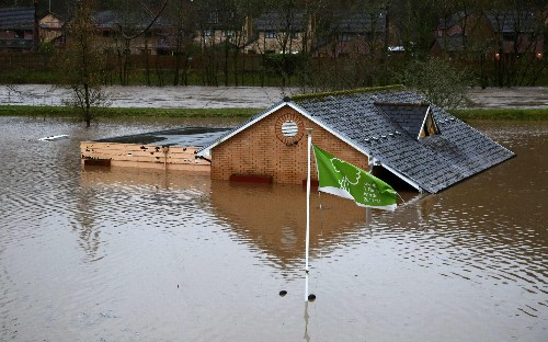 Environment Secretary says 'We'll never be able to protect every household' following record flood warnings