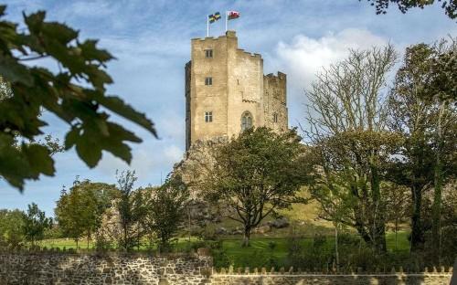 The best castle hotels in Wales