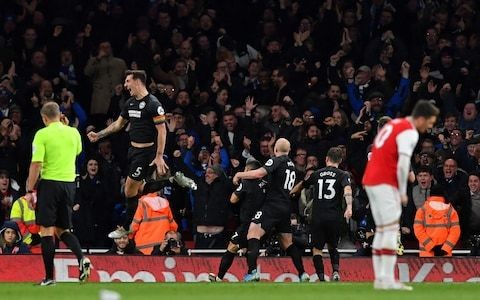 Brighton's plan at Arsenal was to make home crowd turn on their team - and it worked, says Lewis Dunk