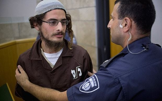Israel places first Jewish extremist under administrative detention