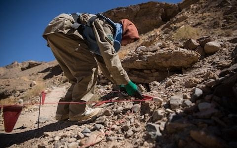First Afghanistan province declared mine-free – thanks to an all-female team who cleared them