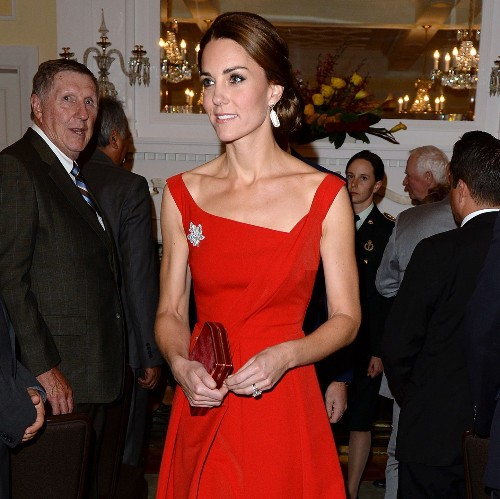 The Duchess of Cambridge's most stylish evening dresses over the years
