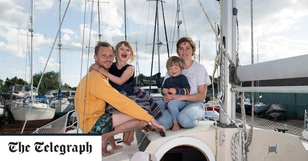 'I'm giving my children an education money can't buy – by sailing around the world with them'