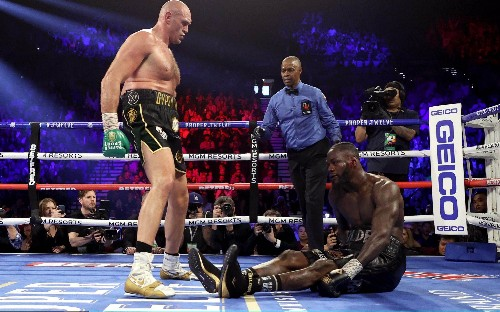 Tyson Fury beats Deontay Wilder: 'an unbeaten champion reduced to tatters' - Paul Hayward's verdict