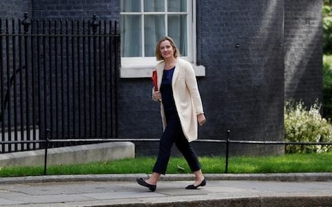 Amber Rudd urges new Tory leader to put more women in the Cabinet
