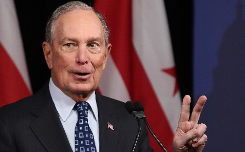 Michael Bloomberg calls Donald Trump a 'barking clown' as his presidential bid builds momentum
