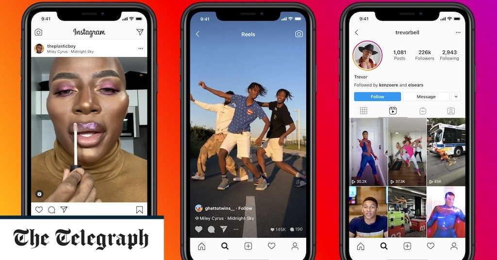 Instagram launches TikTok rival Reels in the UK