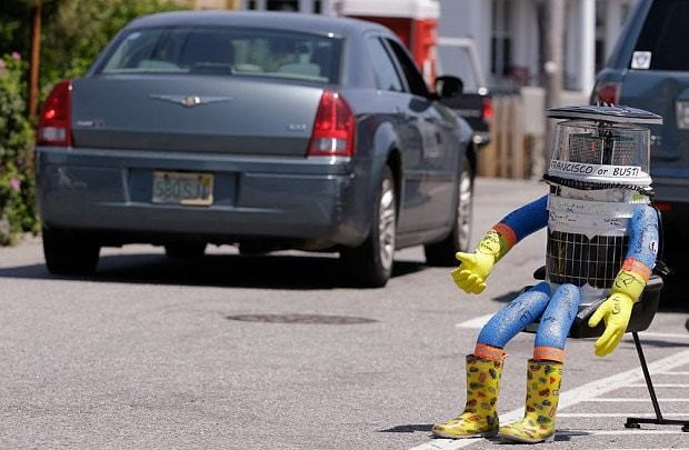 Who killed hitchBOT? Video purports to show hitchhiking robot's demise