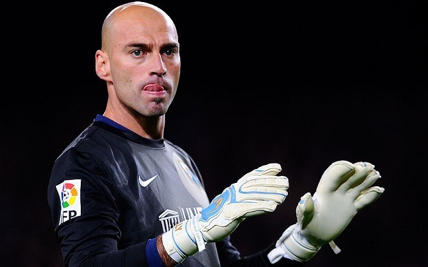 Manchester City's Joe Hart faces competition for No 1 jersey from goalkeeper Willy Caballero