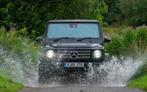 There's only one car the Land Rover Defender has to live up to – and that's the G-Wagen