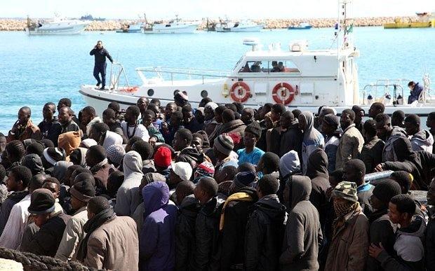 Italy fears refugee exodus from Libya will cross Mediterranean