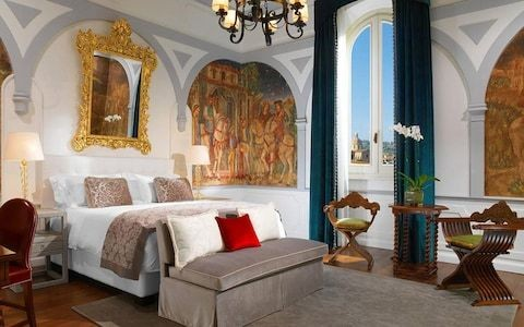 Top 10: romantic Florence hotels