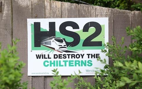 Ministers ditch official £56bn price tag for HS2 after Boris Johnson suggested final cost could be double