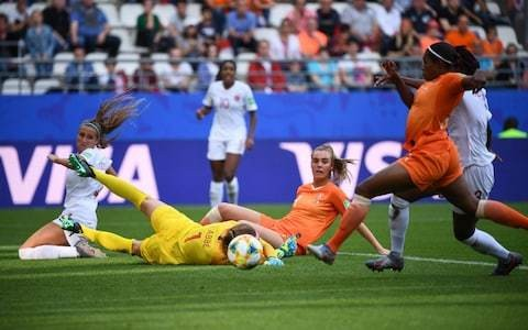 Holland secure top sport in Group E with hard-fought win over Canada