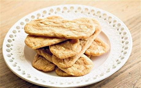 Rose Prince's Baking Club: caramel almond thins