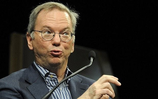 Hay Festival 2013: Teenagers' mistakes will stay with them forever, warns Google chief Eric Schmidt