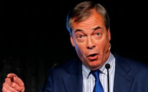 Nigel Farage: 'Only an election can solve Brexit impasse'