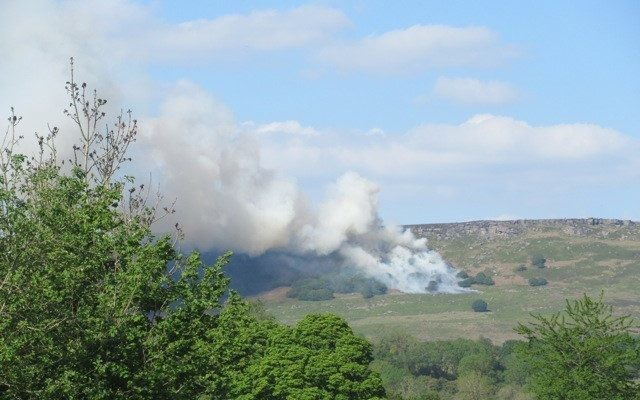 Peak District officials ask shops to ban sale of disposable barbecues after wildfires outbreak