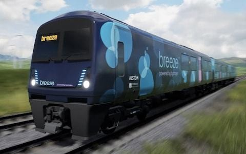 Hydrogen fuel cell trains to run on British railways from 2022