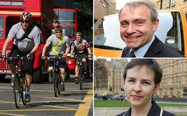 New expenses row as MPs claim for riding their bikes