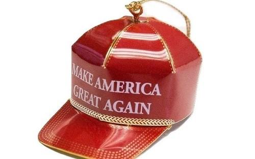 'It's yuge!' Donald Trump Make America Great Again ornament proves surprise Christmas hit