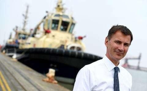 Jeremy Hunt pledges extra £15bn for defence to ensure Britain can guard against Russian threat