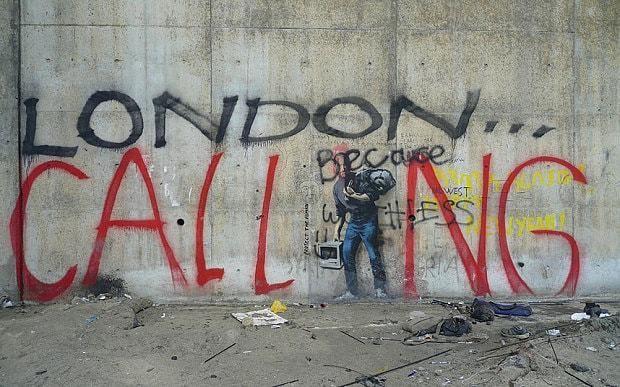 Banksy mural of Steve Jobs defaced in Calais