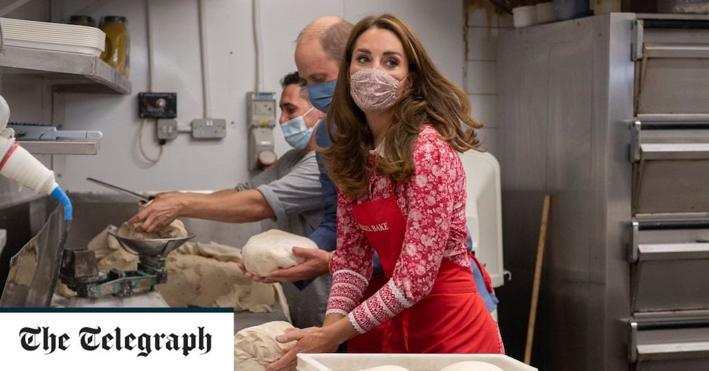Duke and Duchess of Cambridge hit the job centre and make bagels as they go back to work in London