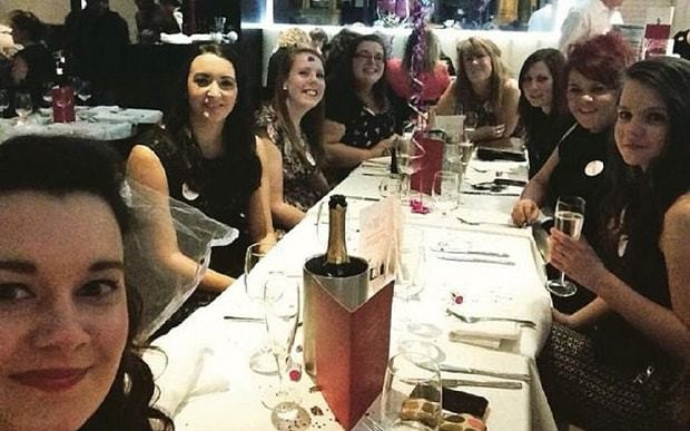 Restaurant brands hen party 'chav cheap trash' after bad review