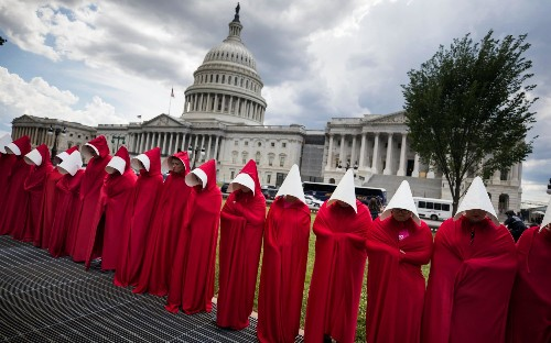 The Handmaid's Tale protests taking place across the world