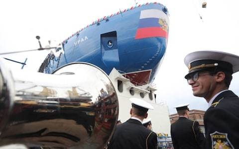 Russia launches new nuclear-powered icebreaker in bid to tap Arctic potential