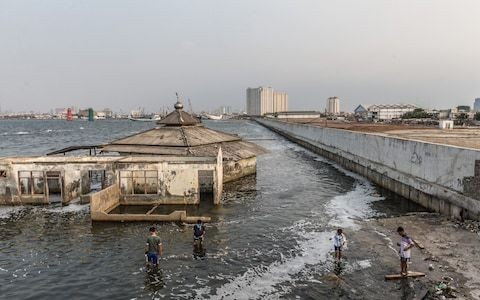 Indonesia's government reveals location of new capital as Jakarta sinks