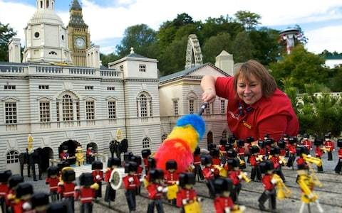 Weird and wonderful jobs in 360°: a model maker at LEGOLAND