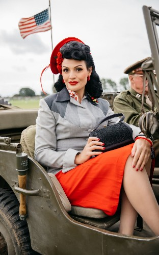 The best vintage fashion looks at Goodwood Revival