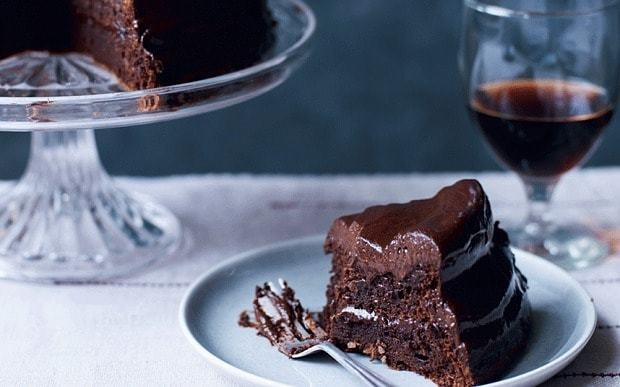 Gluten-free double chocolate mousse cake